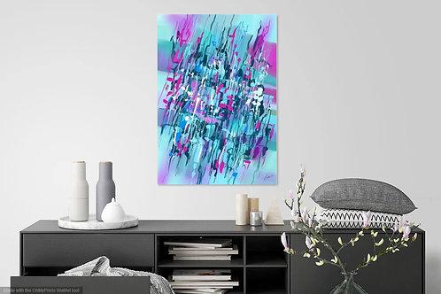 Purple Blue Garden