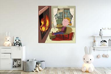 Juan Sebastián Amadeo- Fireplace- Bed.jp