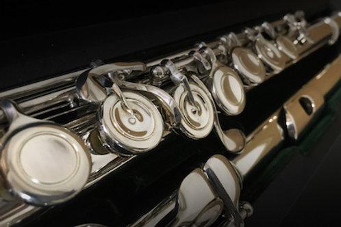 Altus solid silver flute