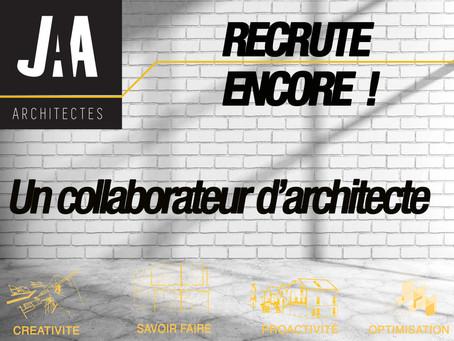 JAA RECRUTE                                        1 Collaborateur d'Architecte