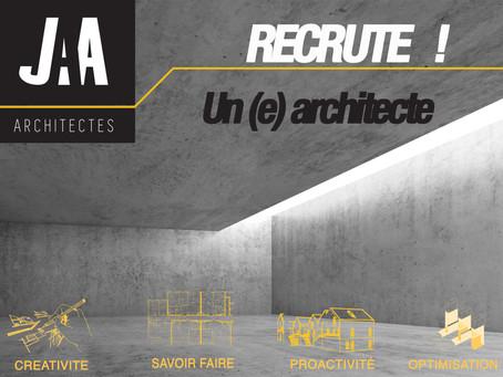 JAA RECRUTE                                      un(e) Architecte