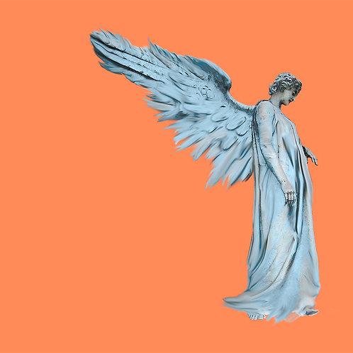 """Engel Nr. 15 """"Der Schutzengel""""_orange breit"""