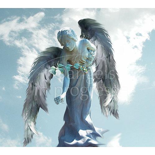 "Engel Nr. 11 ""Das Leben feiern""_Himmel"