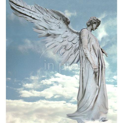 """Engel Nr. 15 """"Der Schutzengel""""_Himmel"""