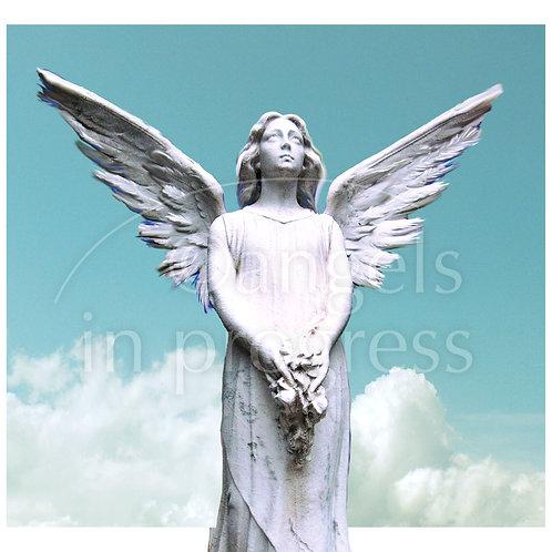 """Engel Nr. 43 """"Engel der Hoffnung""""_Himmel"""