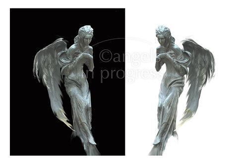 """Engel Nr. 22 """"Dualität, Balance"""""""