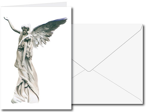 """Engelkarte Nr. 39 """"Die Liebenden"""""""