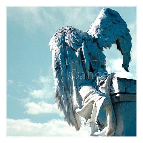 """Engel Nr. 7 """"Trauern dürfen""""_Himmel"""