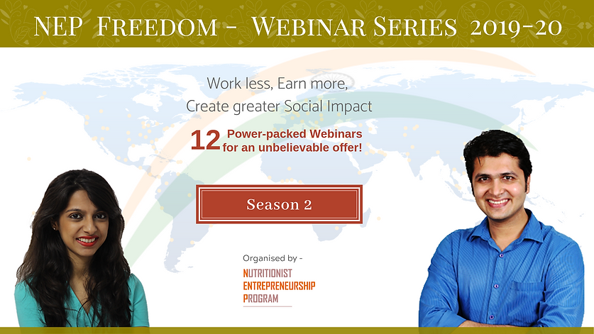 Season 2 - NEP Financial Freedom Webinar