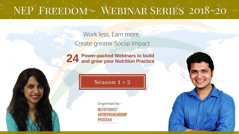 Season 2 - NEP Financial Freedom Webinar