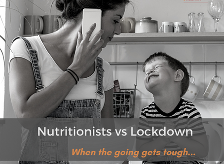 Nutritionists vs Lockdown