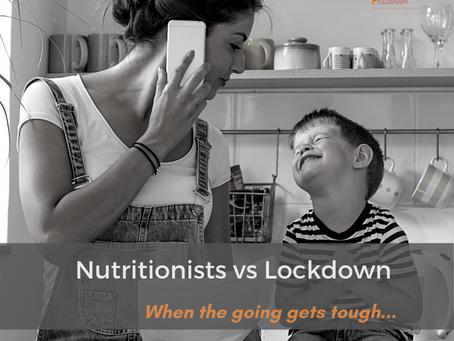 Nutritionists vs Lockdown