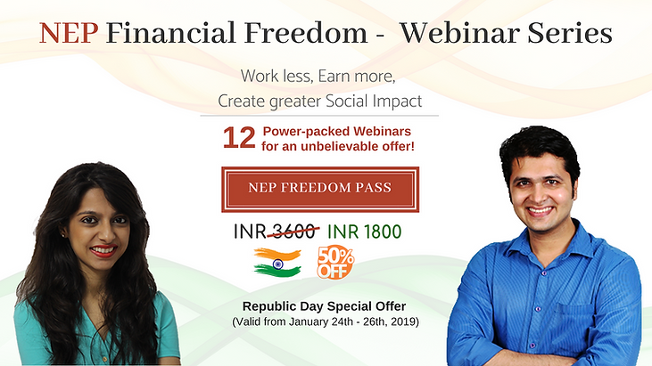 NEP Freedom webinar - Republic Day 2019.