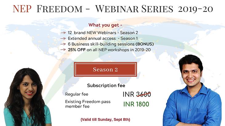 Website NEP Financial Freedom Webinar Se
