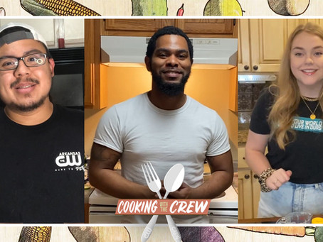 """Another Round of Tasty Treats on """"Cooking with the Crew""""!"""