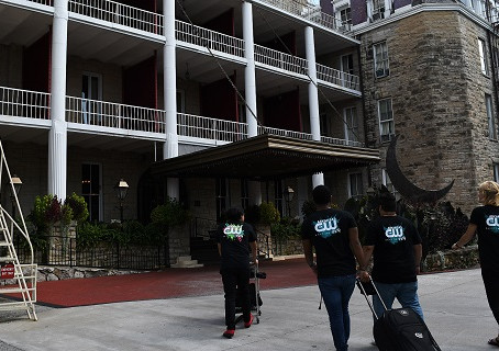 The Crew checks into the Crescent Hotel for an eerie night of ghost hunting!