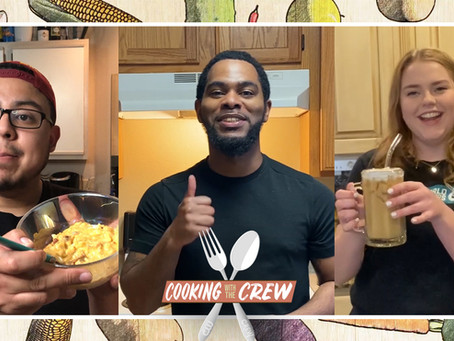 The Crew is back in the kitchen, serving up some tasty treats!