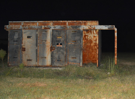 A spooky night at Fort Chaffee