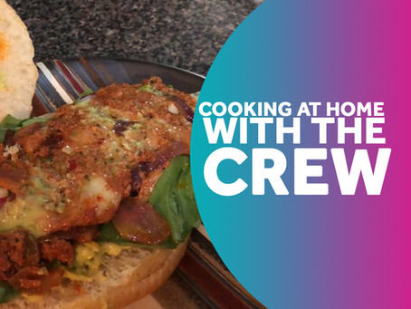 The Crew flexes their culinary skills!