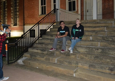 The Crew Investigates the eerie grounds of the Fort Smith National Historic Site.