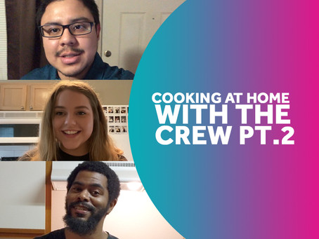 The Crew whip up some tasty treats.