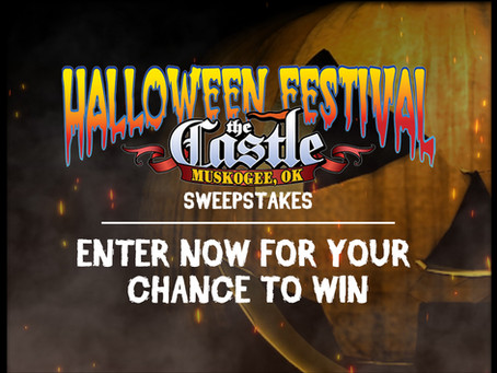 Enter Now For a Chance to Win A Prize Pack For Castle of Muskogee Halloween Festival!