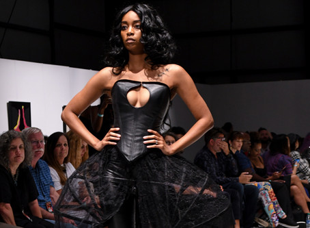 """Bizarre Couture's Line """"Horror Vacui"""" hits the Runway"""