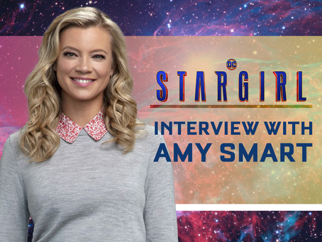 Interview with Amy Smart from the CW Show 'DC's Stargirl'