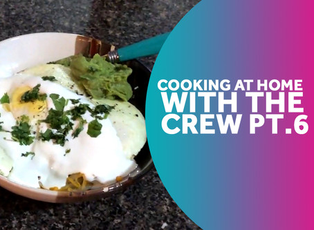 The Crew heads back into the kitchen to serve up some tasty treats!