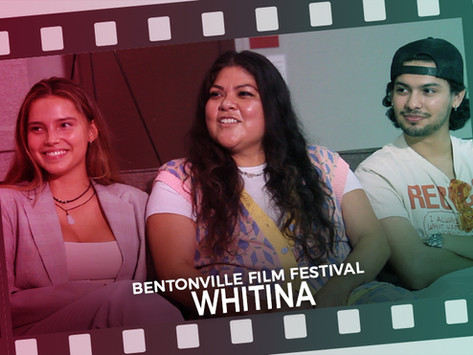"""Interview with Cast & Crew about the film  """"#Whitina"""" at the Bentonville Film Festival"""