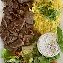 Lamb and Beef Gyro