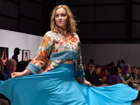 Designer Elizabeth hits the runway at NWAFW Fall Show with her new clothing line
