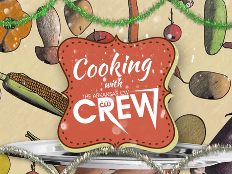 The Crew heads back into the kitchen to serve up some holiday treats