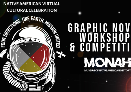 Museum of Native American History announces Graphic Novel Workshop & Competition