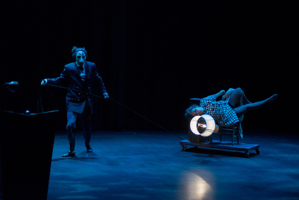 """""""HOTEL VORTUBA"""" premiered at Edmonton Fringe festival receiving three 5 star reviews and a"""