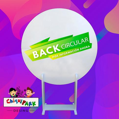 back circular mediano