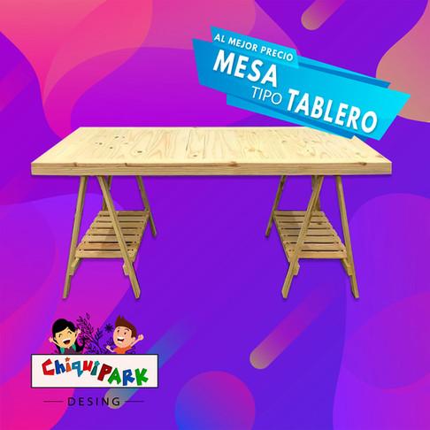 MESA TIPO TABLERO