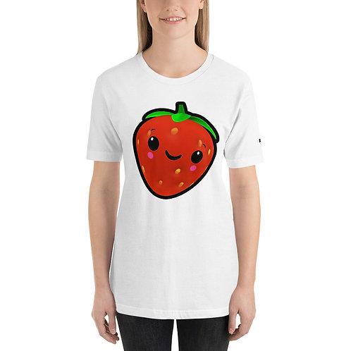 Short-Sleeve Unisex T-Shirt - Strawberry