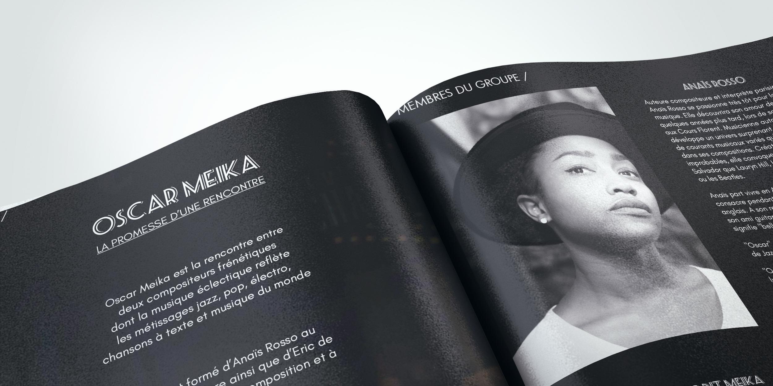 Dossier de presse Oscar Meika