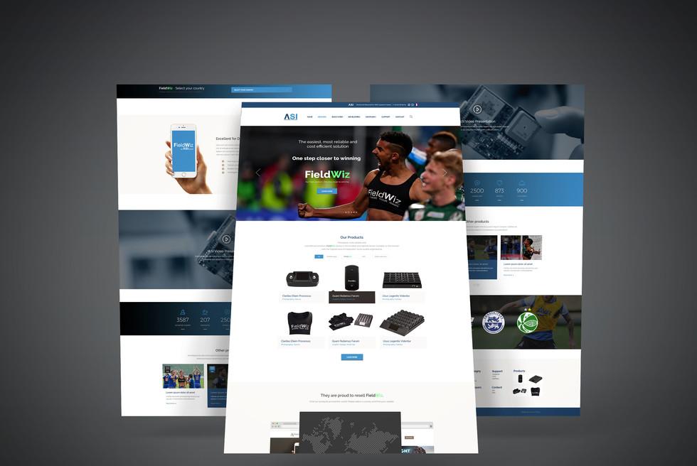 Maquette Site-web Corporate - ASI