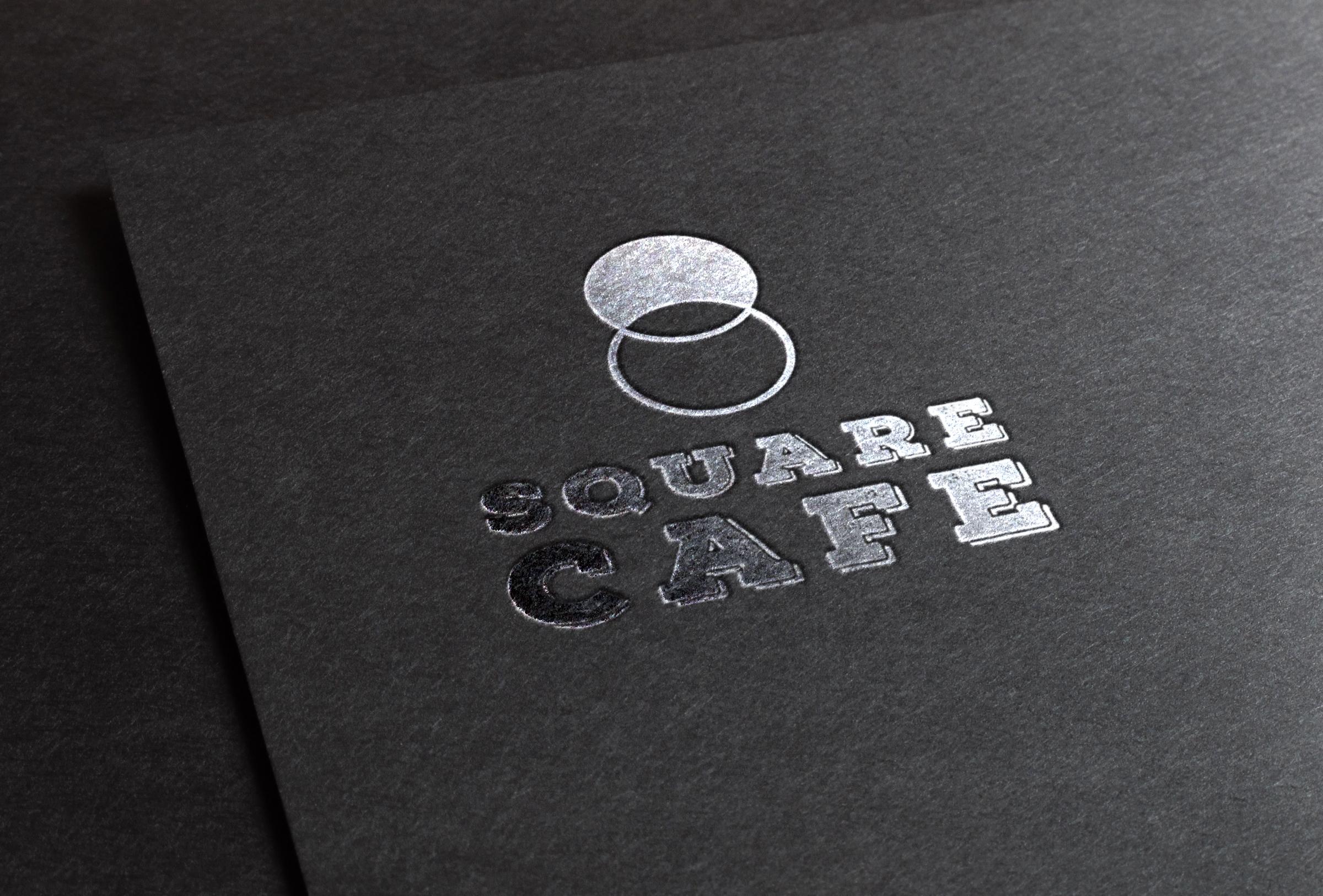 SQUARE CAFE, Logo, Carte.