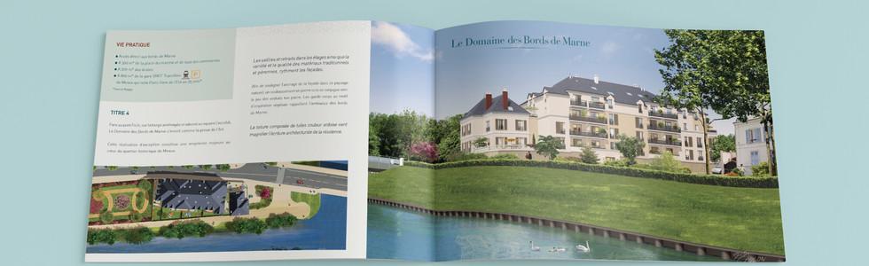 Création de plaquettes immobilières - Paris Pierre