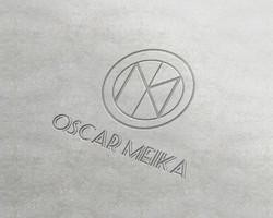 Logotype Oscar Meika, Nov 2017