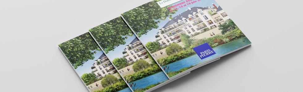 Création de flyers immobiliers - Paris Pierre