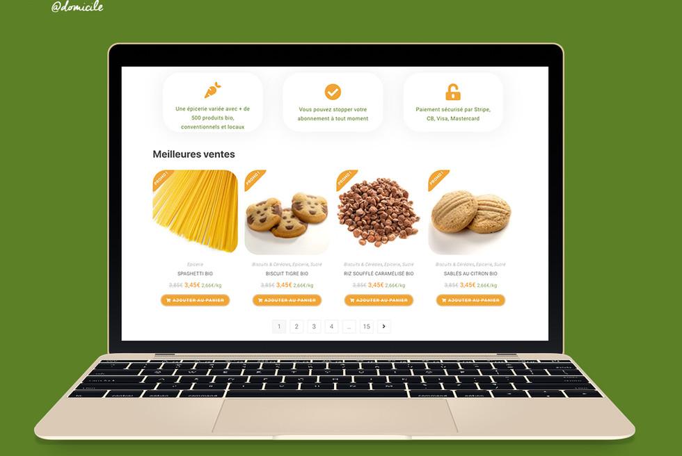 Création Site e-commerce & Identité graphique (Branding)