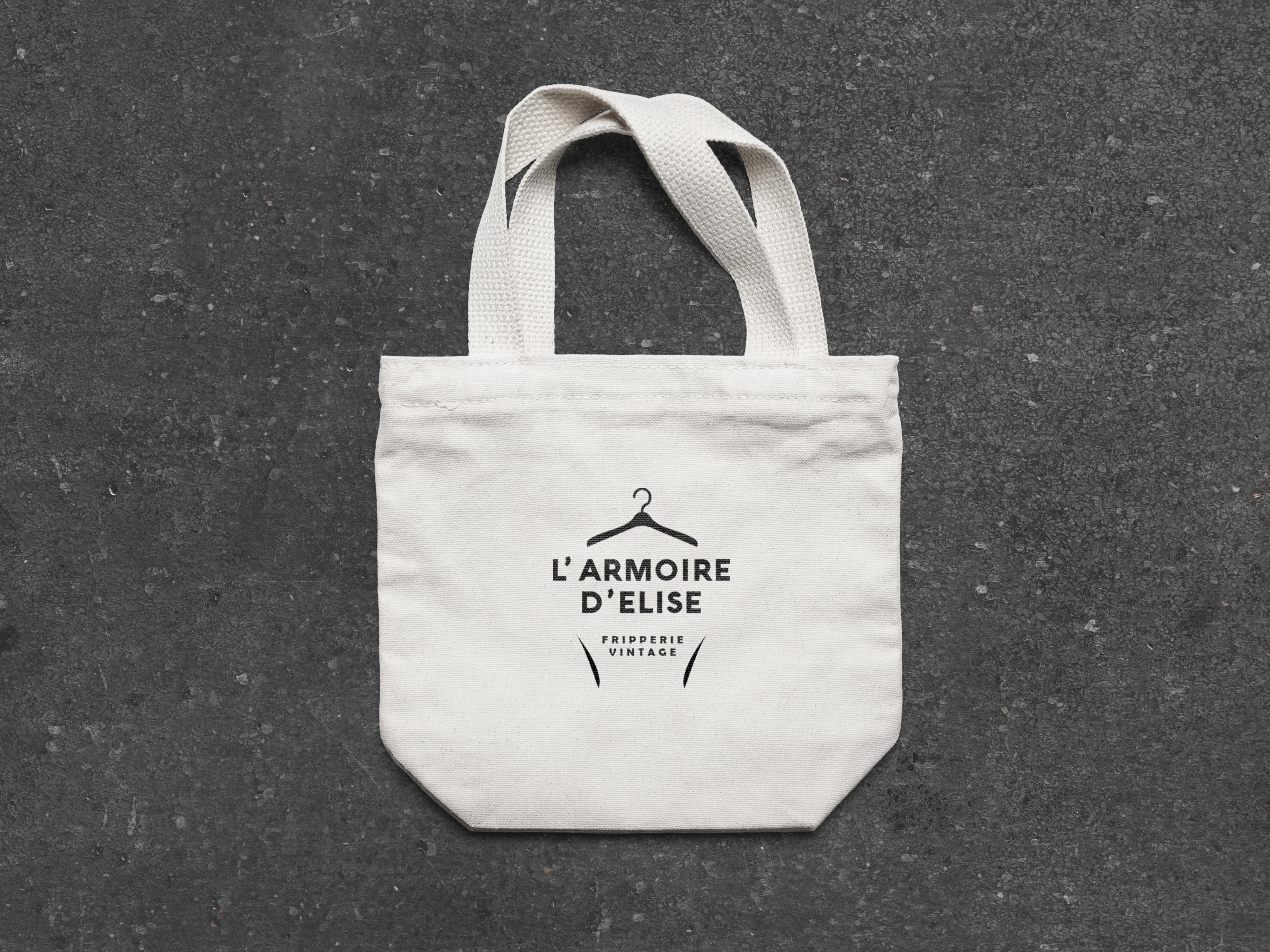 """Tote-Bag """"L'Armoire d'Elise"""""""
