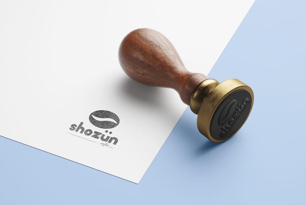Création du logotype Shozün Coffee
