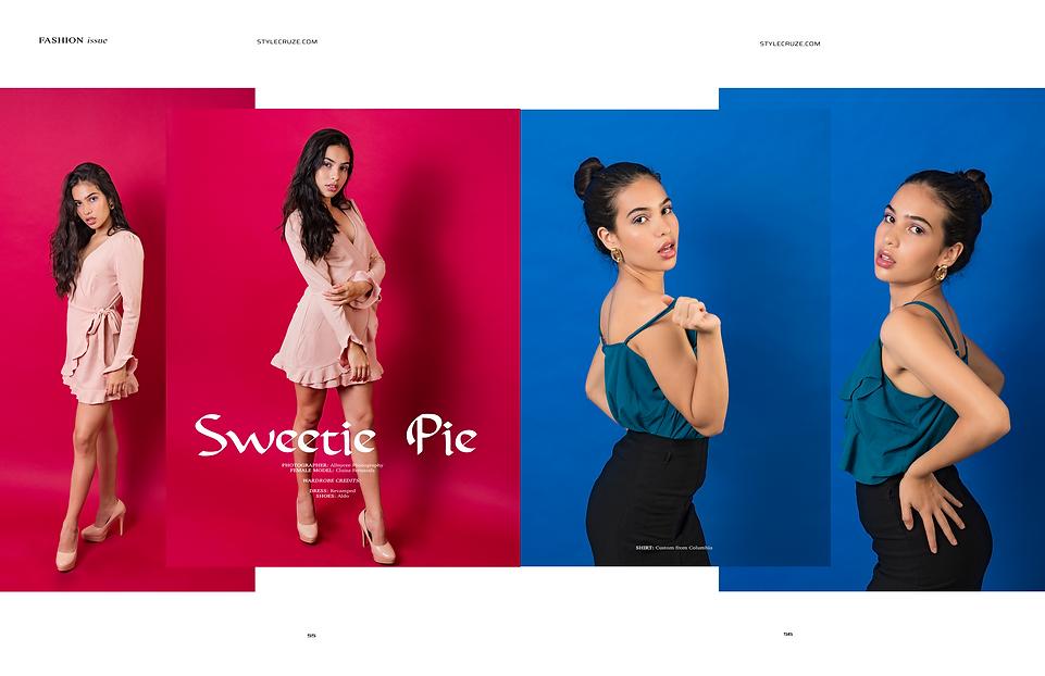 Editorial Tear Sheet From Stylecruze Magazine