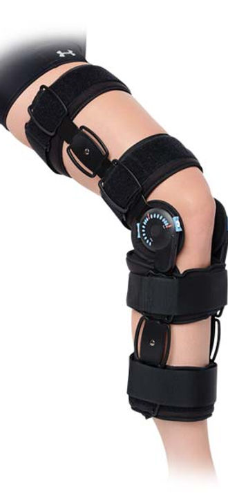 ADVANCED HINGED RANGE OF MOTION KNEE BRA