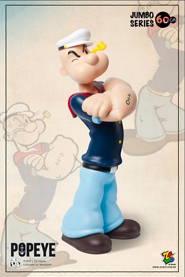 Popeye - 90th anniversary 60cm (Retro)